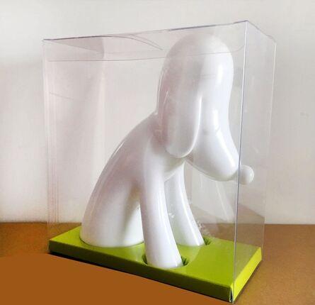 Yoshitomo Nara, 'White Aomori Dog Bank', 2017