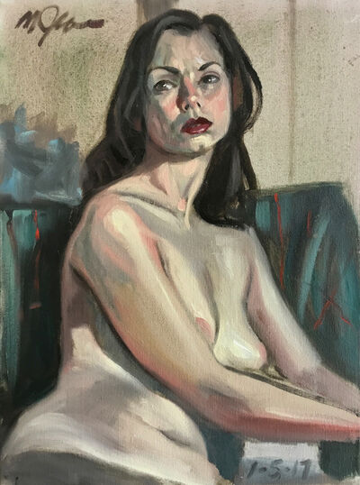 Mark Ross, 'Untitled (Woman Seated in Green) ', 2017