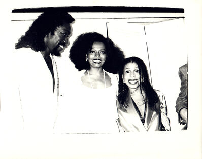 Andy Warhol, 'Andy Warhol, Photograph of Ashford Simpson and Diana Ross', 1977