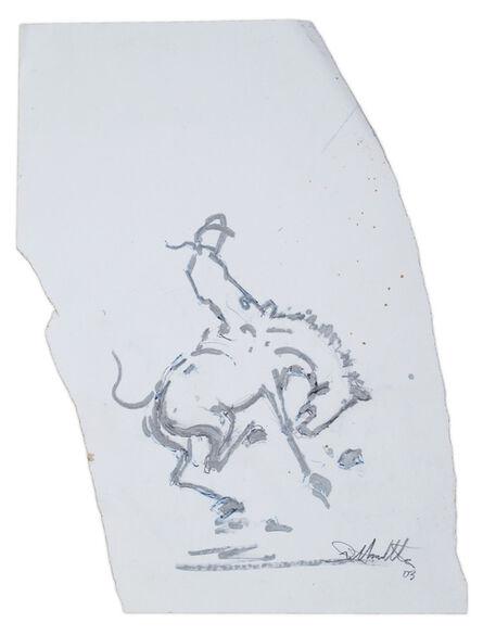 Richard Hambleton, 'Horse and Rider', 2003