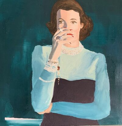 Holland Cunningham, 'Town and Country Babe with Cigarette', 2021