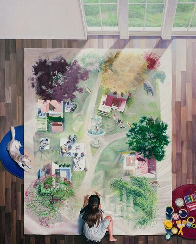Bae Joon Sung, 'The Costume of Painter - at the studio- garden field 2', 2021