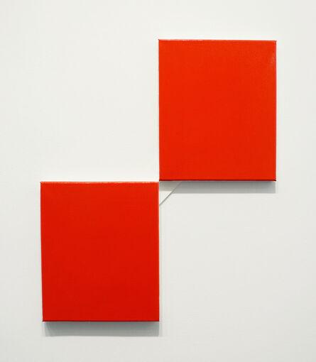 John Nixon, 'Red Monochrome', 2013-2014