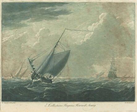 Elisha Kirkall after Willem van de Velde the Elder, 'Shipping Scene from the Collection of Hugo Howard', 1720s