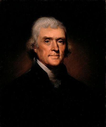 Rembrandt Peale, 'Thomas Jefferson', 1800
