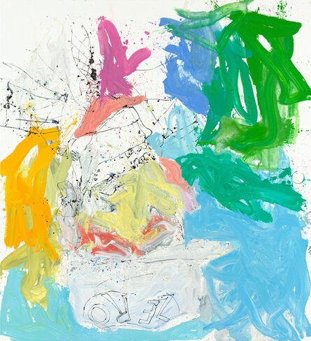 Georg Baselitz, 'Ill wam ruch nichtet mehr (Ill bar fe well)', 2013