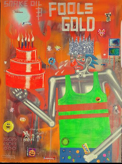 Carlos Ramirez (b. 1967), 'Snake Oil and Fools Gold', 2017