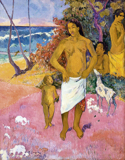 Paul Gauguin, 'Baigneurs (Bathers)', 1902