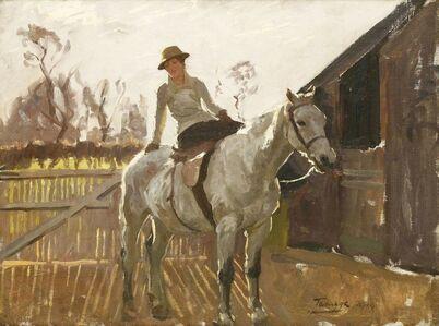 Algernon Talmage, ''A FAVOURITE MOUNT''