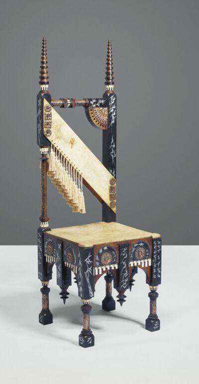 Carlo Bugatti, 'A chair', circa 1908