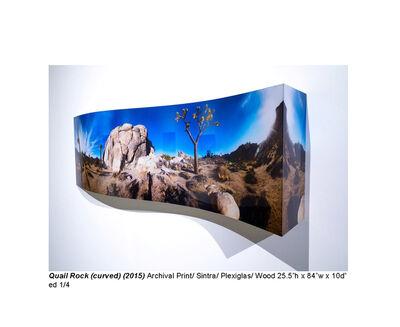 Jeremy Kidd, 'Quail Rock (curved)', 2015