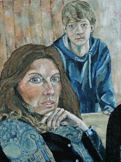 Amanda Ewbank, 'Self Portrait with Youngest Son', 2015