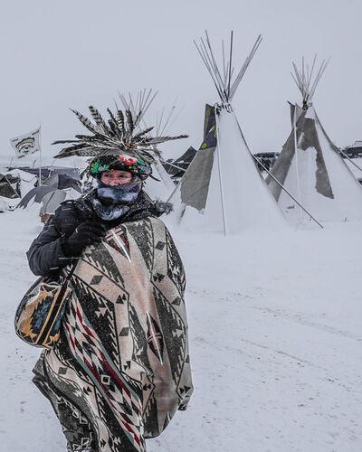 Ryan Vizzions, 'Standing Rock, 2016'