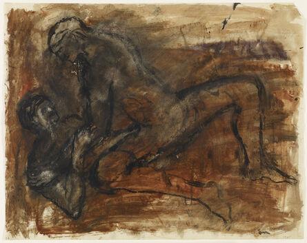 Nancy Spero, 'Lovers', 1965