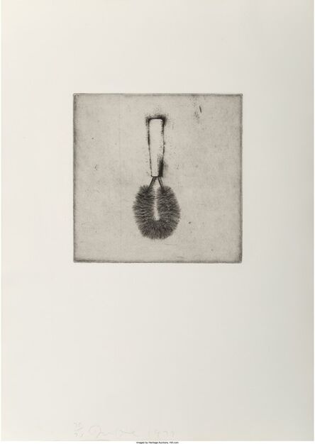 Jim Dine, 'Untitled, from Four German Brushes', 1973