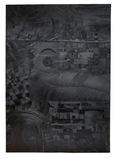 "Abdul Vas, 'BACK IN BLACK ""BRIAN JOHNSON""', 2017"