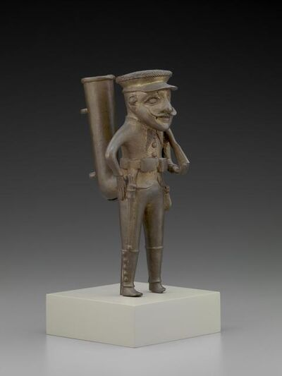 'Tobacco Pipe Bowl in Human Form', early 20th century