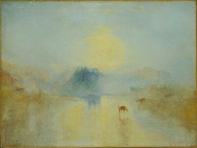 J. M. W. Turner, 'Norham Castle, Sunrise', 1845