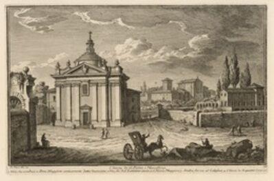 Giuseppe Vasi, 'Chiesa di S. S. Pietro, e Marcellino', 1747