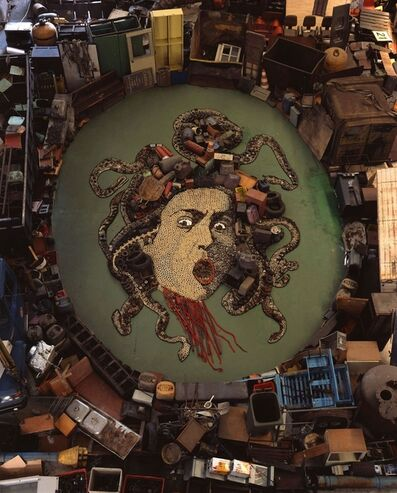 Vik Muniz, 'Medusa, after Caravaggio (Pictures of Junk)', 2009