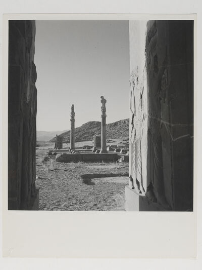 Horst P. Horst, 'View of ruins at the palace of Persepolis, Persia', 1949