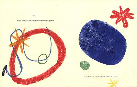 Joan Miró, 'Gravure sur Bois 4', (Date unknown)