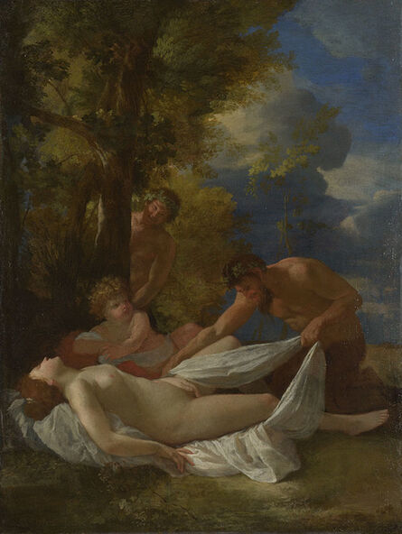 Nicolas Poussin, 'Nymph with Satyrs ', about 1627