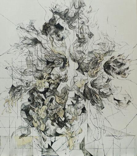 Zelin Seah, 'Flowers in a Vase Version A', 2014