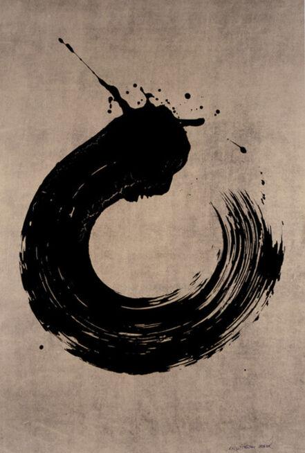 Fabienne Verdier, 'Black Circle', 2006