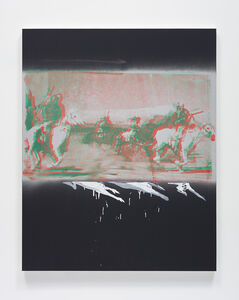 Tala Madani, 'The Silver Belt', 2019