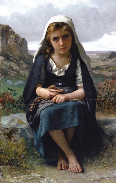 William-Adolphe Bouguereau, 'Gardeuse de moutons (The Shepherdess)', 1881