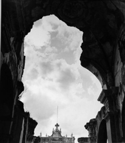 Louise Dahl-Wolfe, 'Guatemala Recollection Cathedral, Antigua', 1952