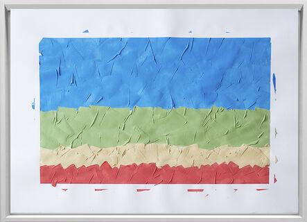 Rodrigo González Castellanos, 'Desgaste de la psicología del color, Fidelidad', 2020