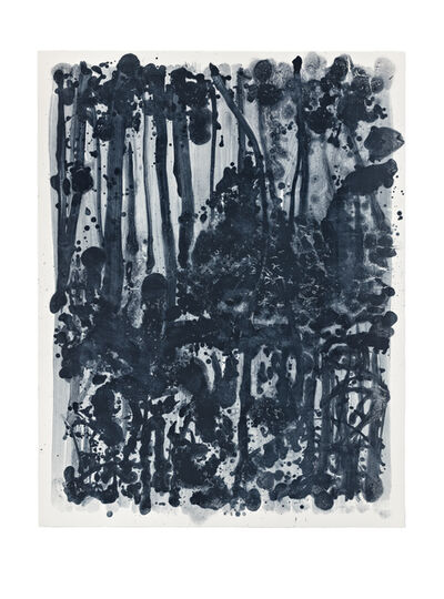 Shinro Ohtake, 'Indigo Forest 10', 2015