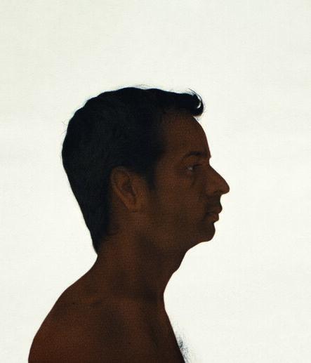 Ali Kazim, 'Untitled (Self Portrait) diptych', 2012