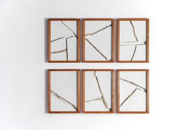 Clemens Behr, 'Sample Breaks 1/6 , 2/6 , 3/6 , 4/6 , 5/6 , 6/6', 2014