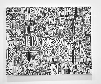 Timothy Goodman, 'New York Forever', 2021