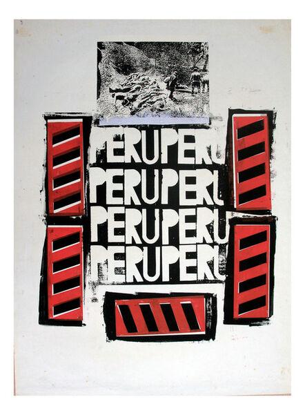 Herbert Rodríguez, 'Perú Perú', 1987