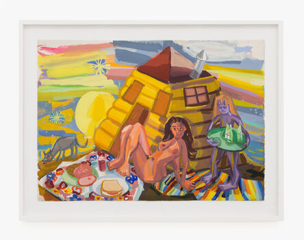Judith Linhares, 'Lunch', 2012