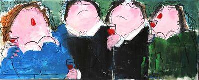 Gerdine Duijsens, 'Two Happy Couples', 2014