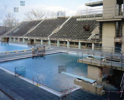 Diane Meyer, 'Pool Olympiastadion', 2014