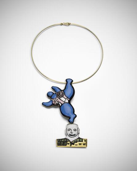 Niki de Saint Phalle, 'Nana Brooch & Necklace', 1975-2013