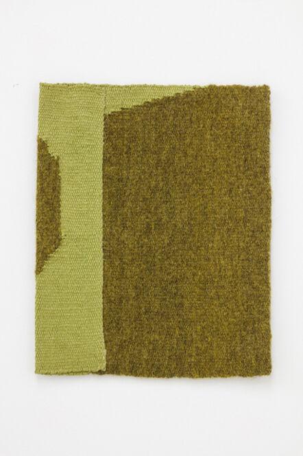 Helen Mirra, 'Lichen-dyed yellow-green, light yellow-green', 2015