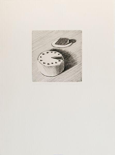 Wayne Thiebaud, 'Coconut Cake', 1964