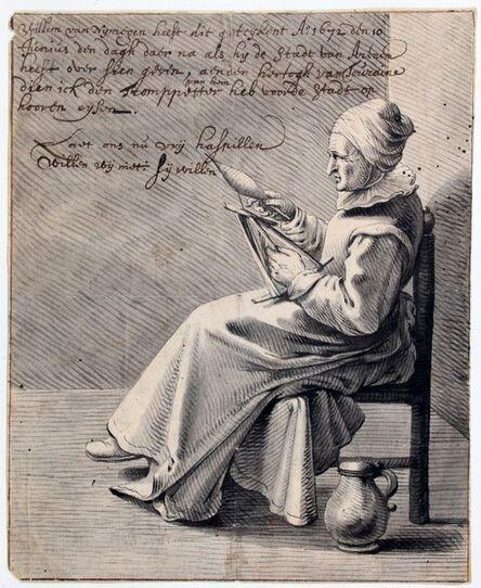 Willem van Nijmegen, 'Allegory of the loss of Arnhem', 1672