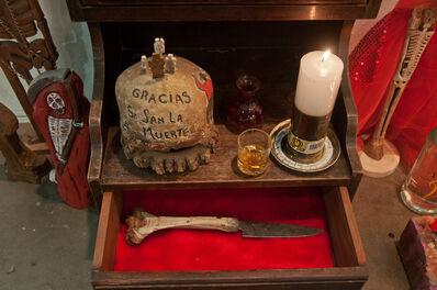 Paulo Burgos - Aquiles Coppini, 'San La muerte Sanctuary', 2014