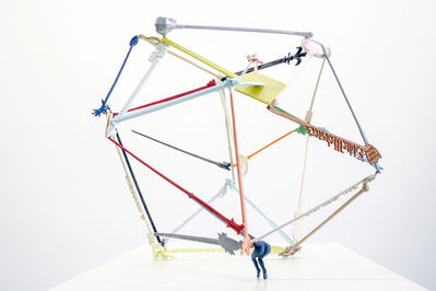 Michel de Broin, 'Drunkated VI (geodesic)', 2016