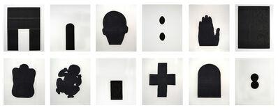 Antony Gormley, 'Bearing Light (Collection of 12 Prints) (Ed. 22 of 30)', 1990