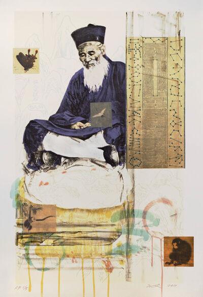 Hung Liu 刘虹, 'Butterfly Dreams: Thinking', 2011