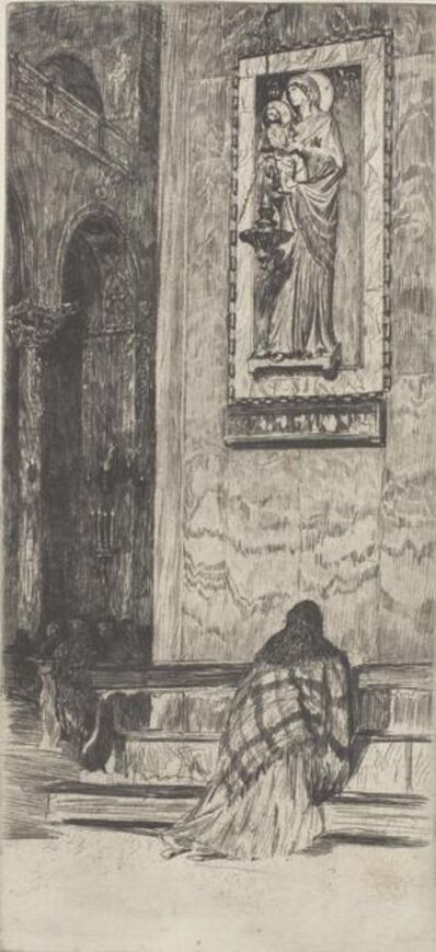 Otto Henry Bacher, 'San Marco', 1880s